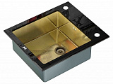 Мойка для кухни Zorg GL-6051-black-bronze